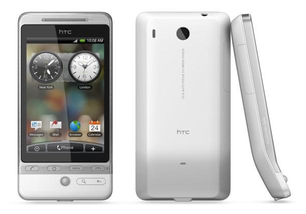 HTC Hero, de cuando HTC era referente.