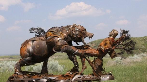 Arts & Culture/a> Escultura de John Lopez