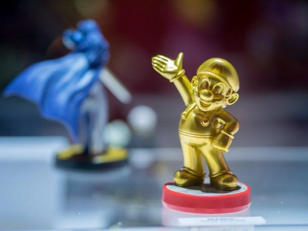 Amiibo de Mario Gold, uno de los exclusivos en algunas grandes superficies / Shutterstock