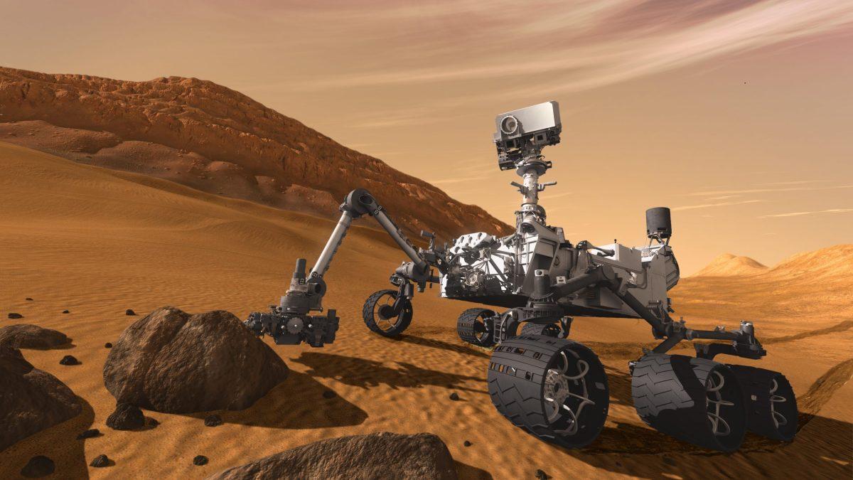 Curiosity, el rover de la NASA que busca metano en Marte