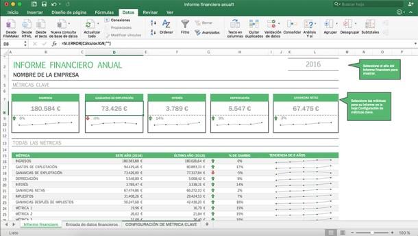 Excel restringiendo datos en un documento complejo.
