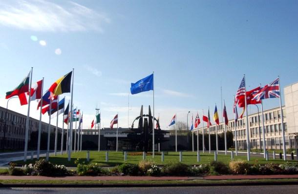 NATO Headquarters, Brussels, Belgium.