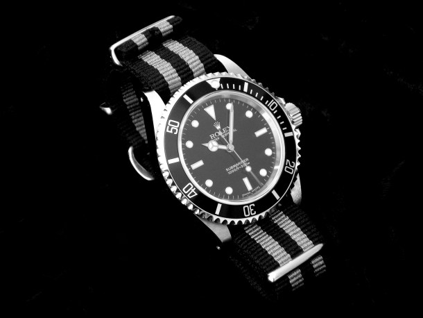 Reloj Rolex con correa NATO / Beckertime