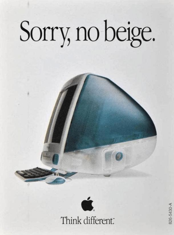 beige apple imac