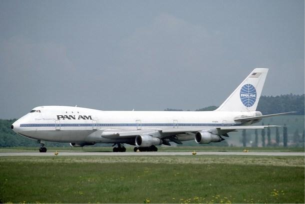 Boeing 747-100 de Pan Am.