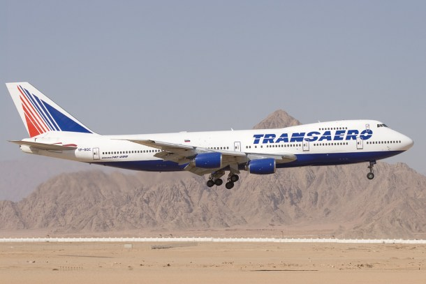 Boeing 747-200 de Transaero.