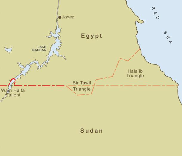 mapa de bir tawil