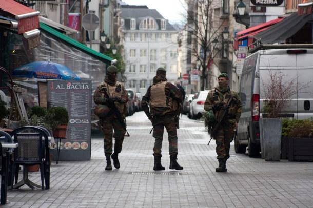 Imagen de archivo de la policía belga en Bruselas. CRM / Shutterstock.com.