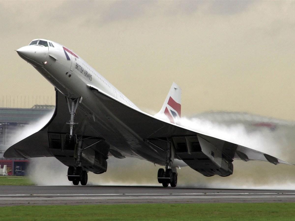Concorde morro inclinado
