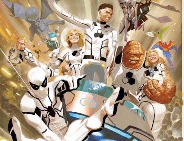 La Future Foundation creada por Mr. Fantastic, una iniciativa científica y de combate. ¿Los veremos en el cine en un futuro? Podemos soñar.