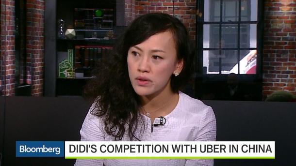 Jean Liu, presidente de Didi Chuxing, en un vídeo de Bloomberg donde explicaba el nuevo nombre recientemente.