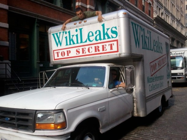 Imagen: Wikileaks Mobile Information Collection Unit