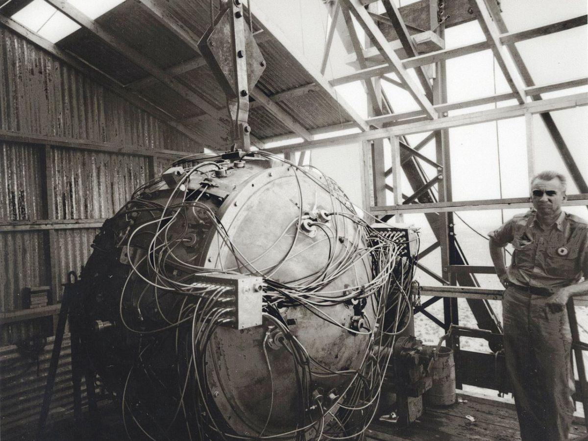 Trinity, primera prueba nuclear
