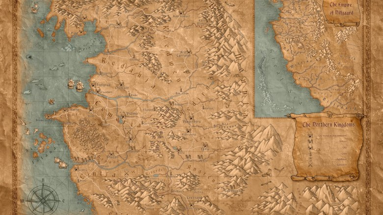 Geralt de Rivia mapa