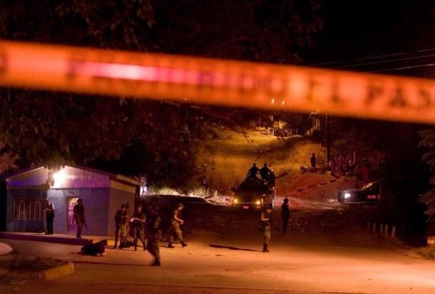 Violencia callejera en Mexico 10 poblado