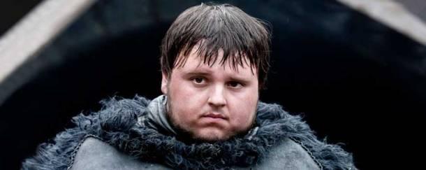 Tendría más sentido ya que Sam es el personaje que más se parece a nosotros los fanáticos obsesionados. HBO.