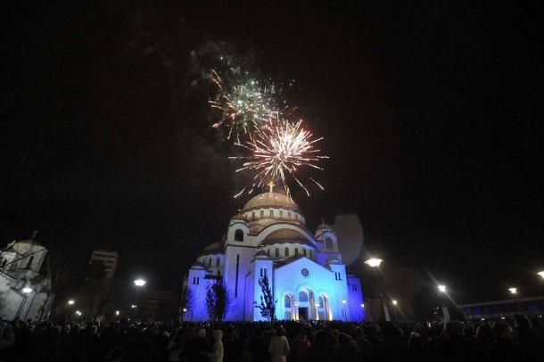 Año Nuevo Serbio en Belgrado. CC Wikipedia under the Creative Commons Attribution.