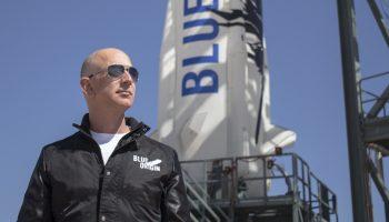 Blue Origin, Jeff Bezos fundador de Amazon