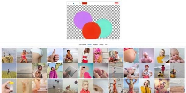 Combinando varios colores al azar obtendrás resultados imprevisibles.