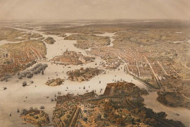 Estocolmo en 1868