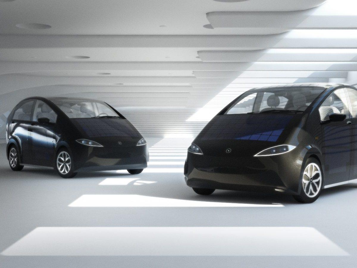 coche solar y eléctrico
