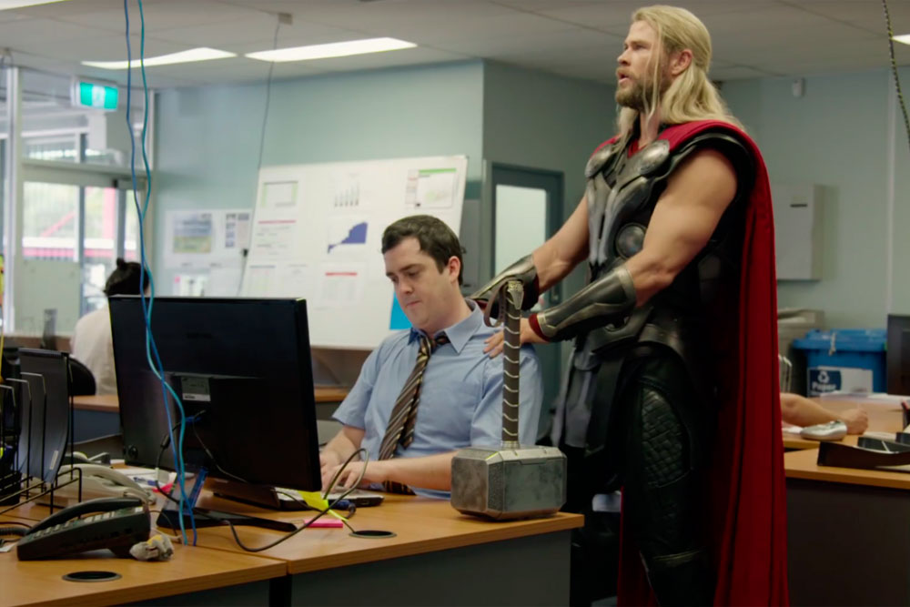 while you were fighting: a thor mockumentary