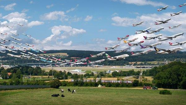 Aeropuerto de Zurich.