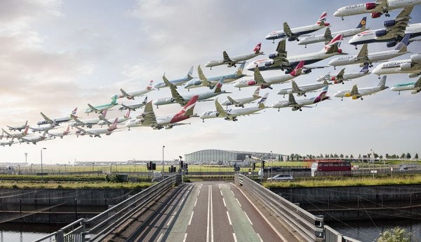 Aterrizajes en Londres.
