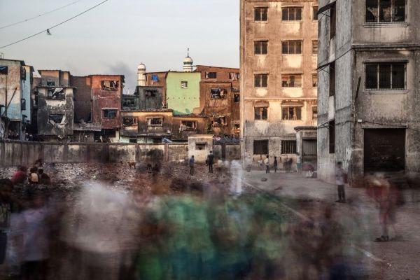 Barrio Dharavi en Mumbai, India. Torsten Andreas Hoffmann.