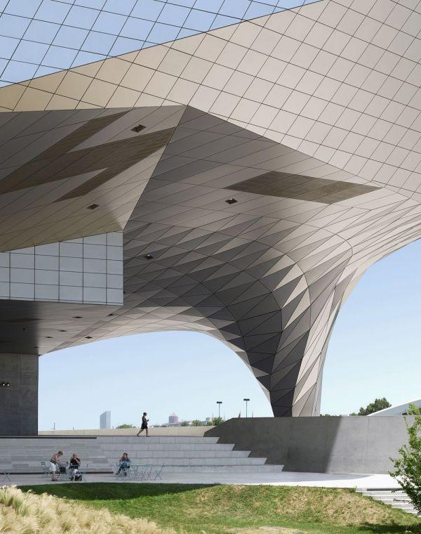 Musee de Confluences en Lyon, Francia. Fabrice Fouillet.