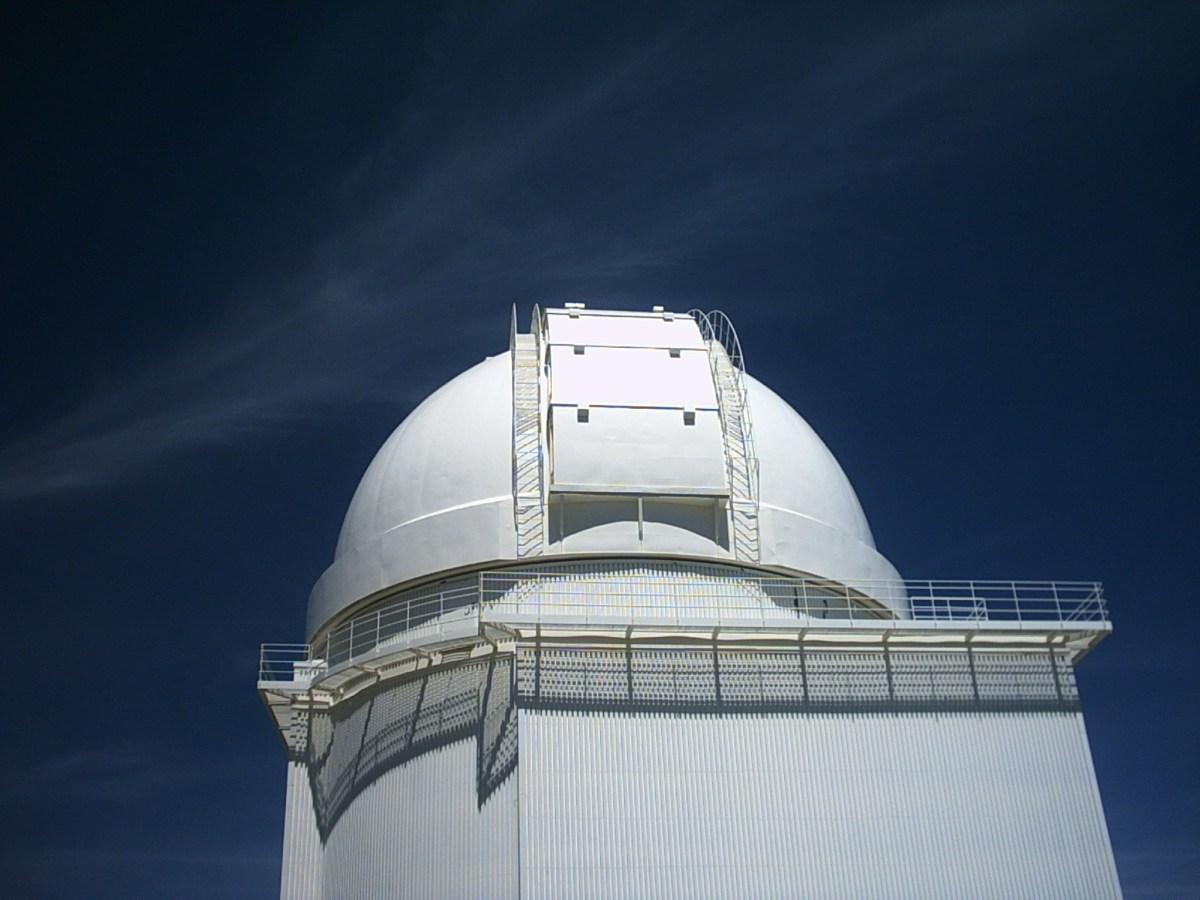 contaminación lumínica en los observatorios