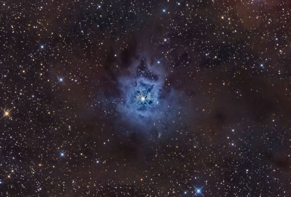Ron Brecher . Nebulosa Iris captada desde Ontario en septiembre