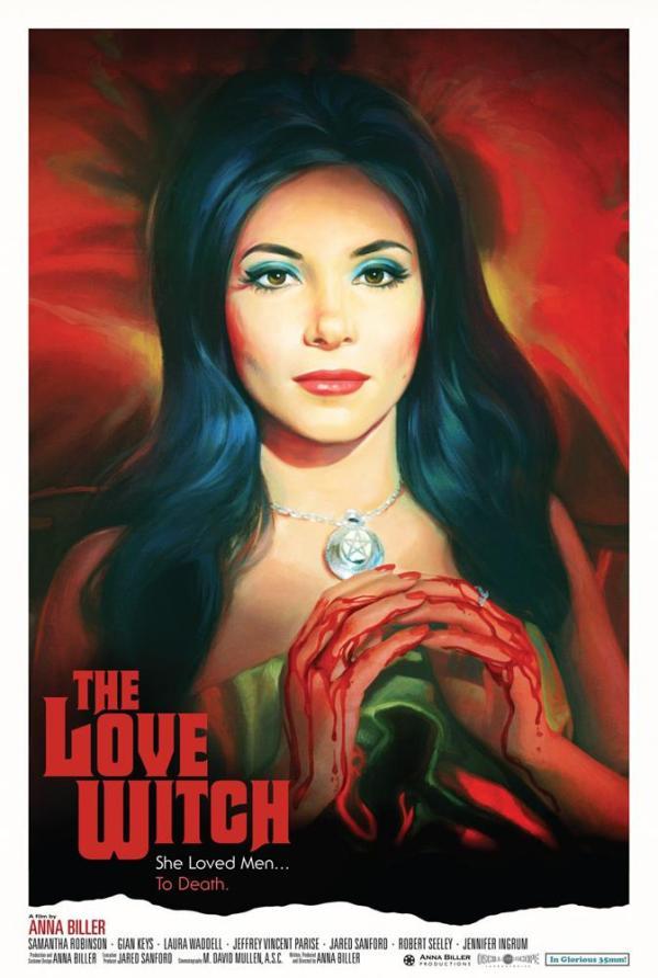 La bruja del amor, en un uso despampanante  del Technicolor