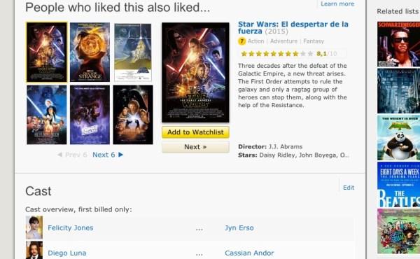 IMDB Captura