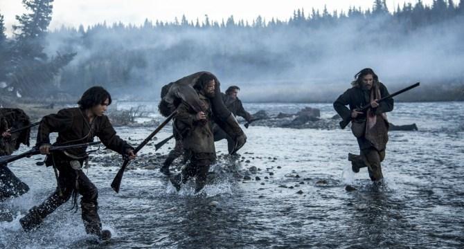 The-Revenant-2015-Alejandro-G-Iñárritu-Tom-Hardy-Leonardo-DiCaprio-Batalla