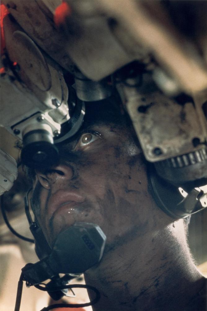 Kerry Nelson, un artillero americano, durante la Guerra de Vietnam. Imagen: Co Rentmeester.