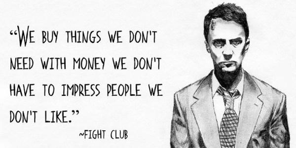 Fight Club (1996). Primera novela publicada por Chuck Palahniuk.