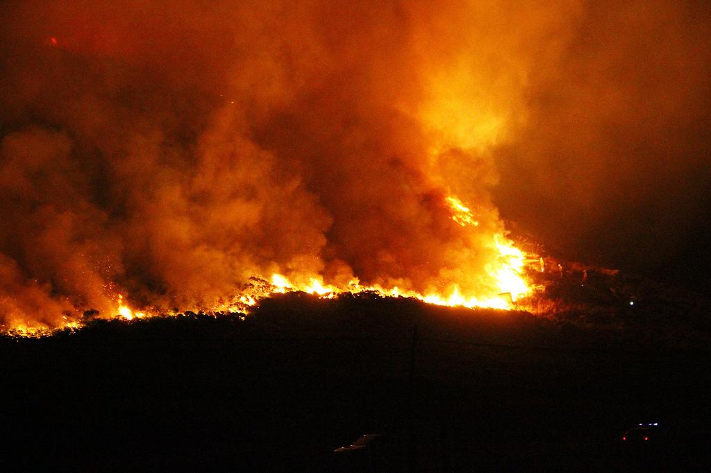 Incendio Doñana