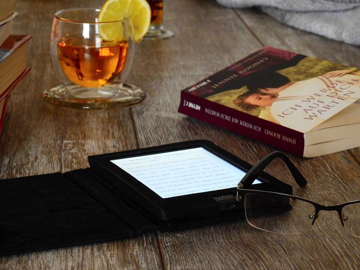 Kindle y libro de papel