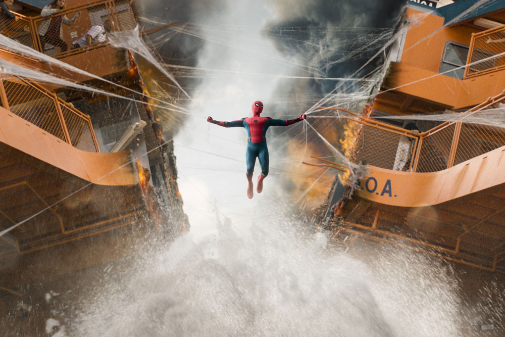 spider-man: homecoming curiosidades