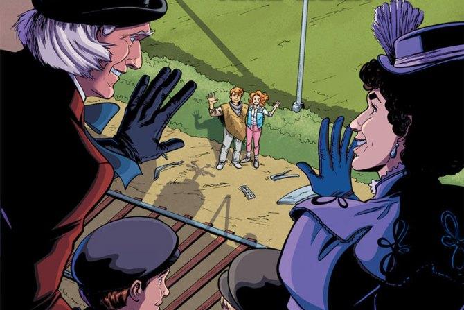 regreso al futuro comic