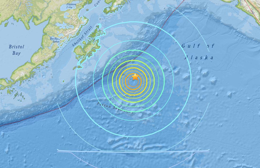 Terremoto Alsaka