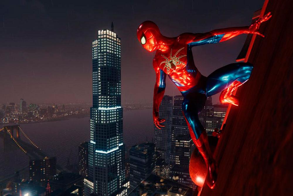 marvel's spider-man ps4 record
