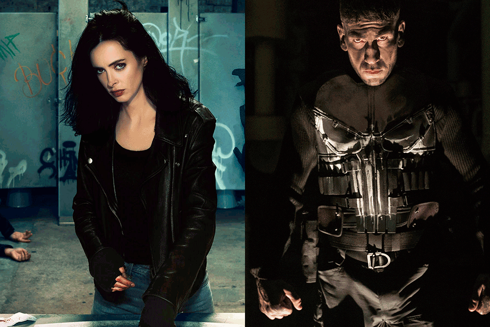 jessica jones the punisher netflix