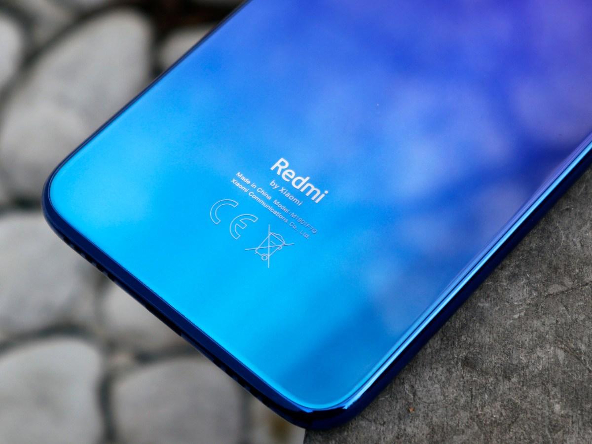 Xiaomi Redmi Note 7.