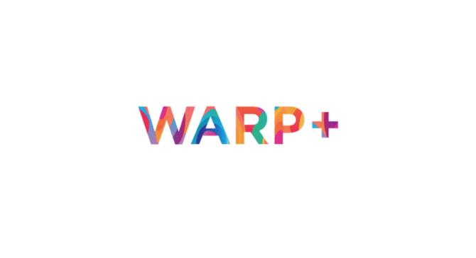 Warp+ logo