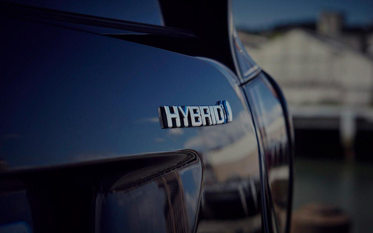 Coche híbrido Toyota