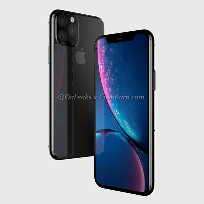 Renders filtrados iPhone XI (2019)