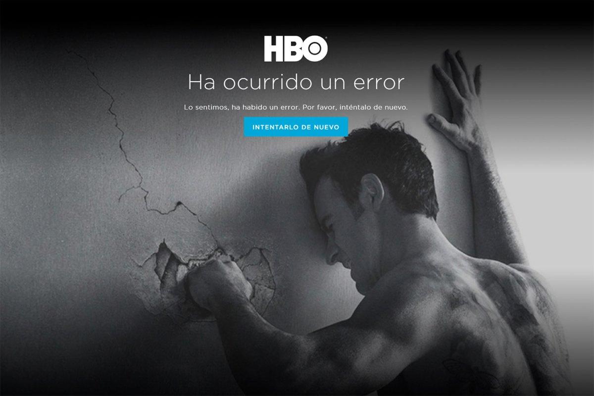 HBO España se cae