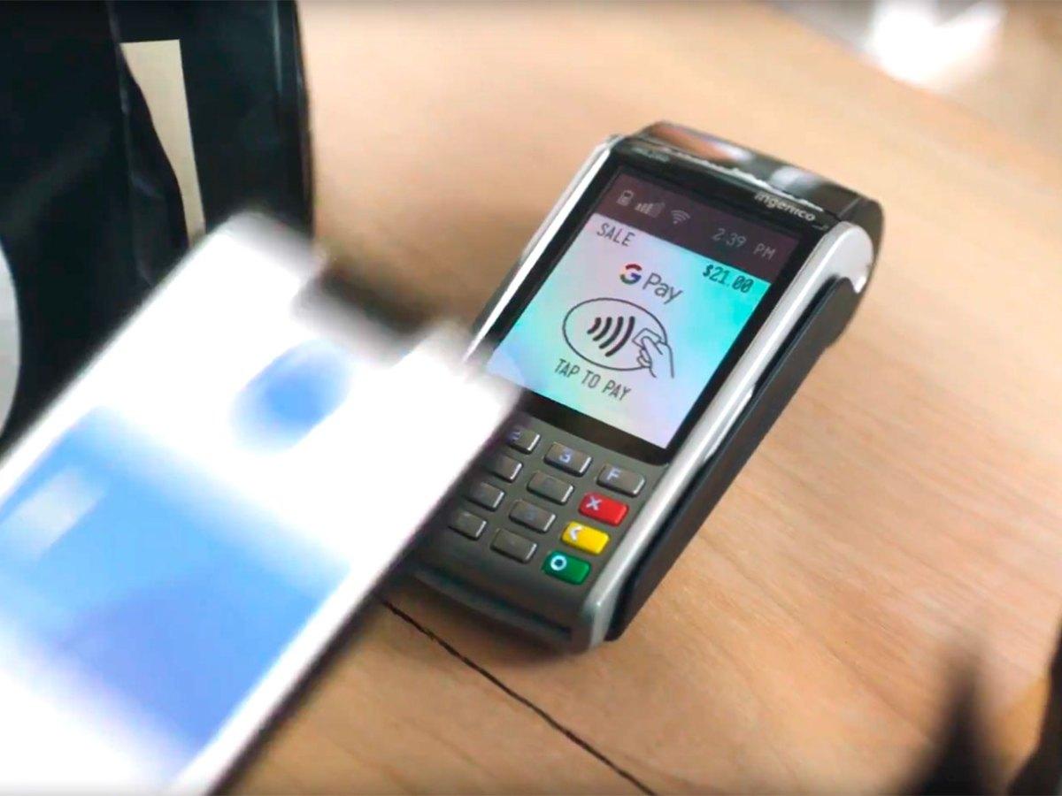 Google Pay con el Pixel 3 XL